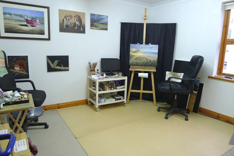Chris Chalk Art Studio