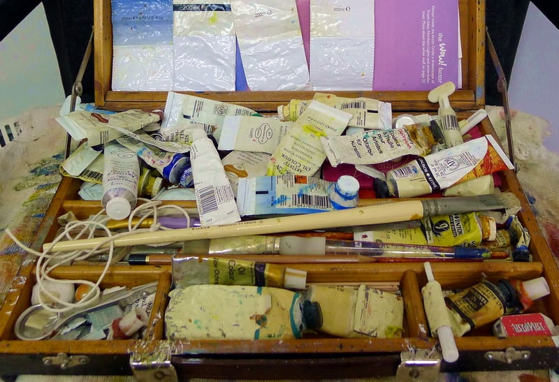 artists paint box