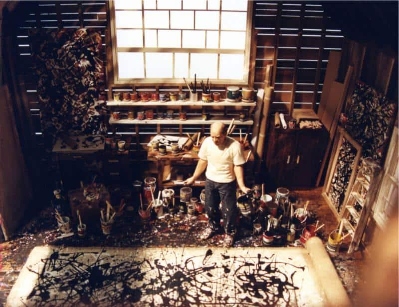 jackson pollack studio