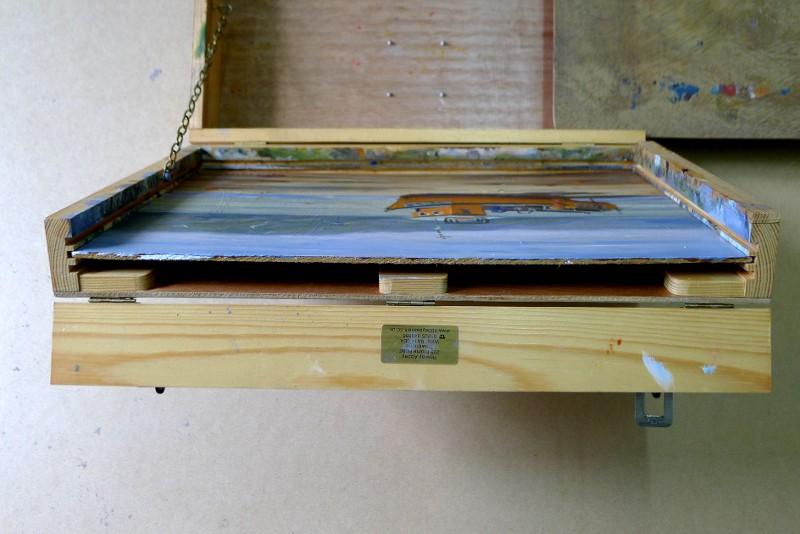 pochade box lid painting boards