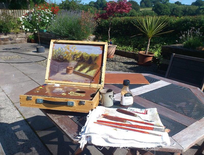 pochade box painting