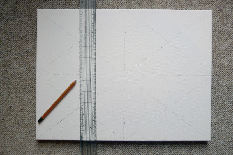 dissect a canvas with lines
