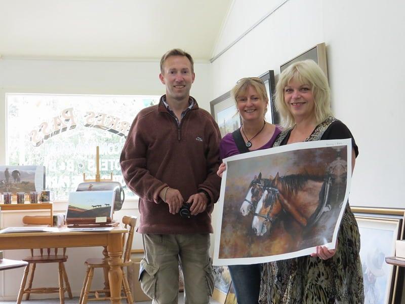 Julie Greig and Karen Neal artist