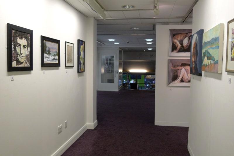 Mwldan art exhibition