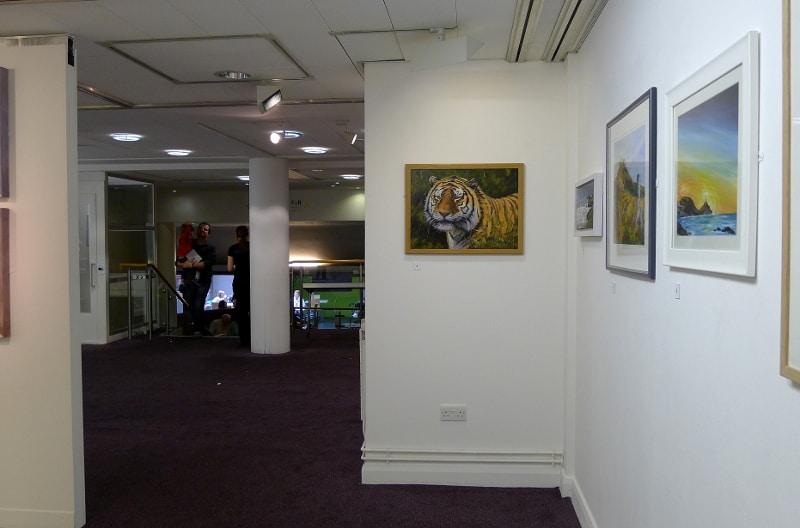cardigan artists exhibition