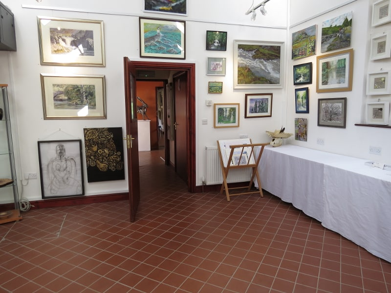 paintings at the Powerhouse Pwerdy Llandysul
