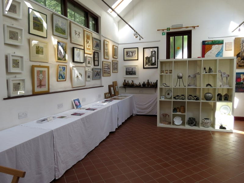 art exhibition Llandysul