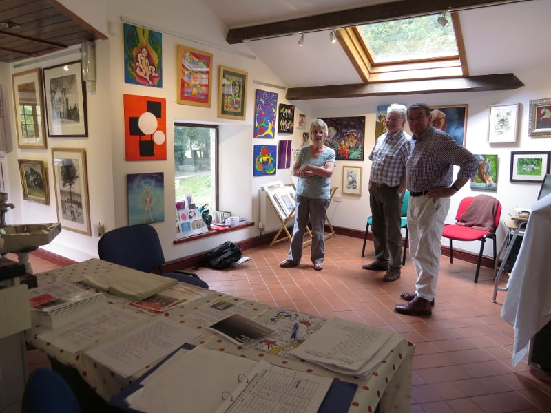 Powerhouse Llandysul art exhibition