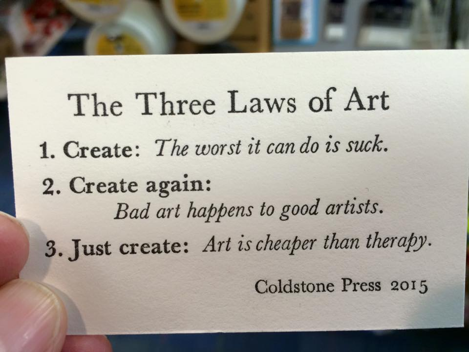 three laws of art