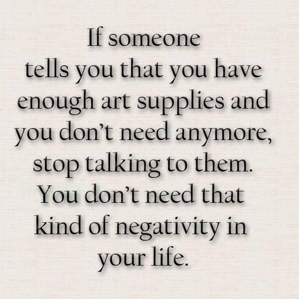 art supplies quote
