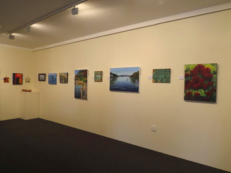 Art exhibition in New Zealand at the Marlborough art society gallery