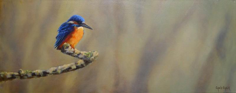 Kingfisher painting UK