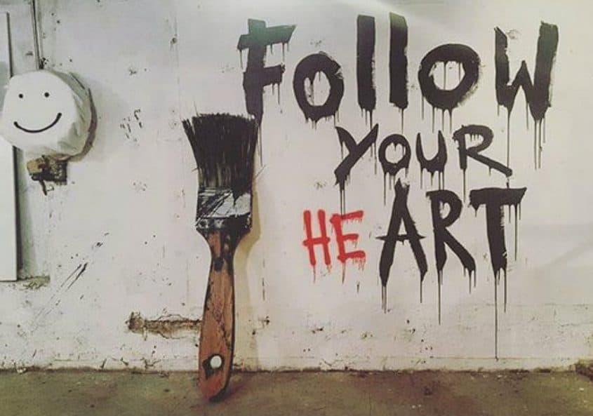 follow your heart art