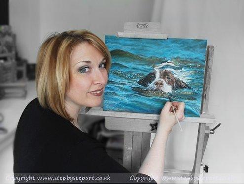 Artist Karen Berisford