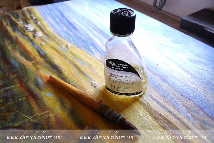 retouching varnish ready to use