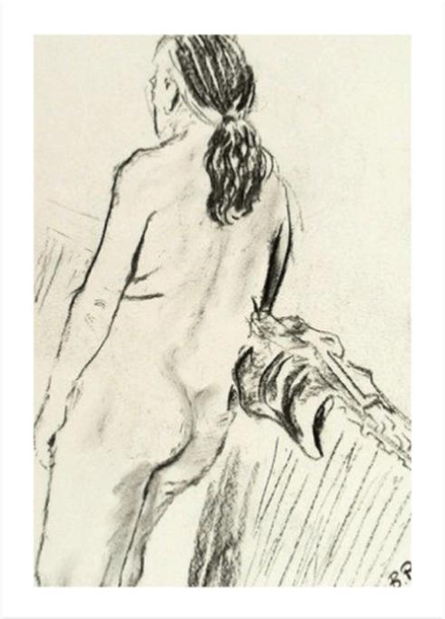 graphite drawing