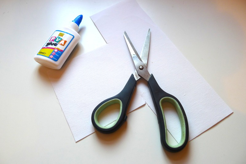 equipment needed to repair a damaged canvas painting