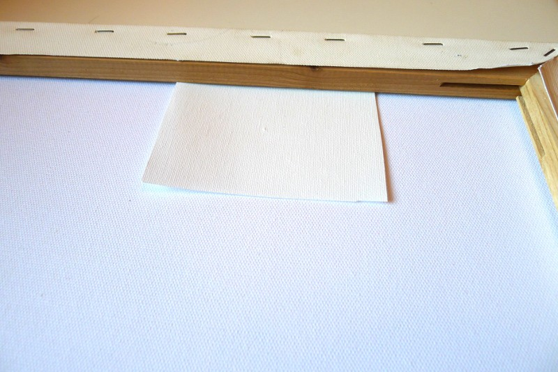 canvas painting repair