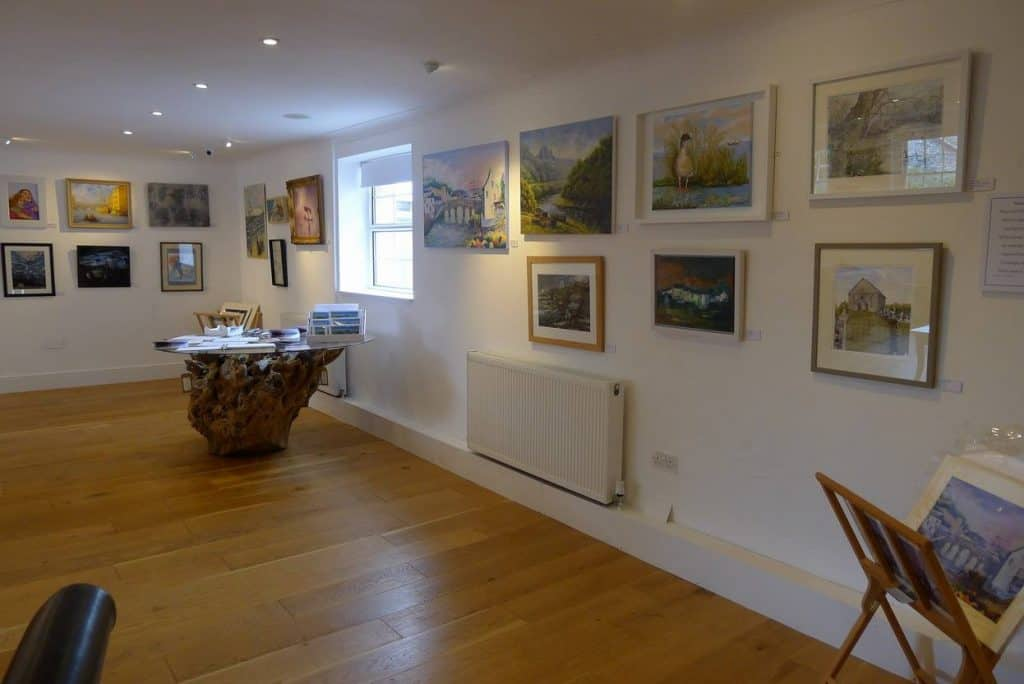 The Albion art Exhibition in Cardigan at studio 3