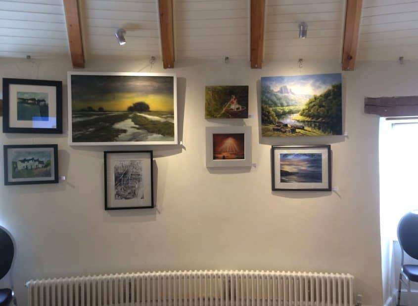 Welsh artists paintings on display
