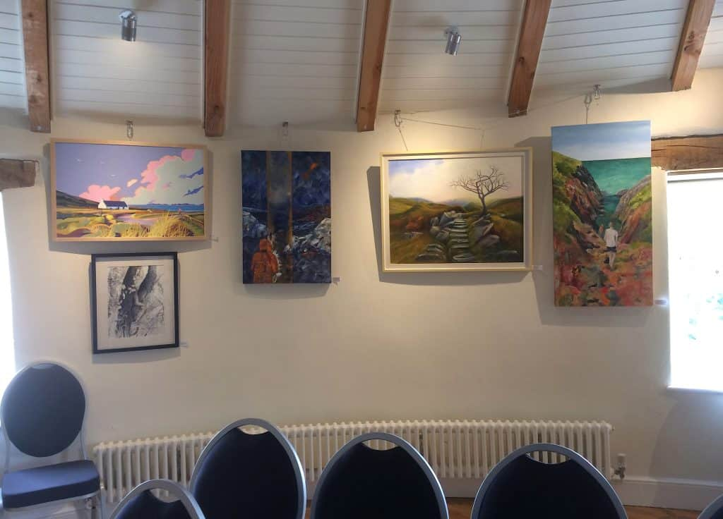 Welsh paintings on display