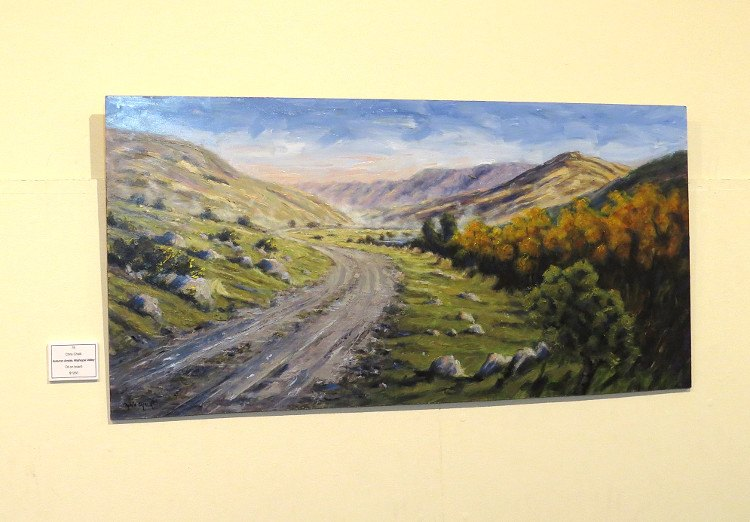 Waihopai Valley painting