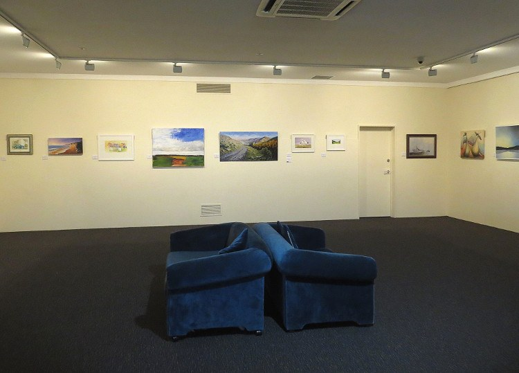 Waihopai Valley painting, Marlborough Gallery