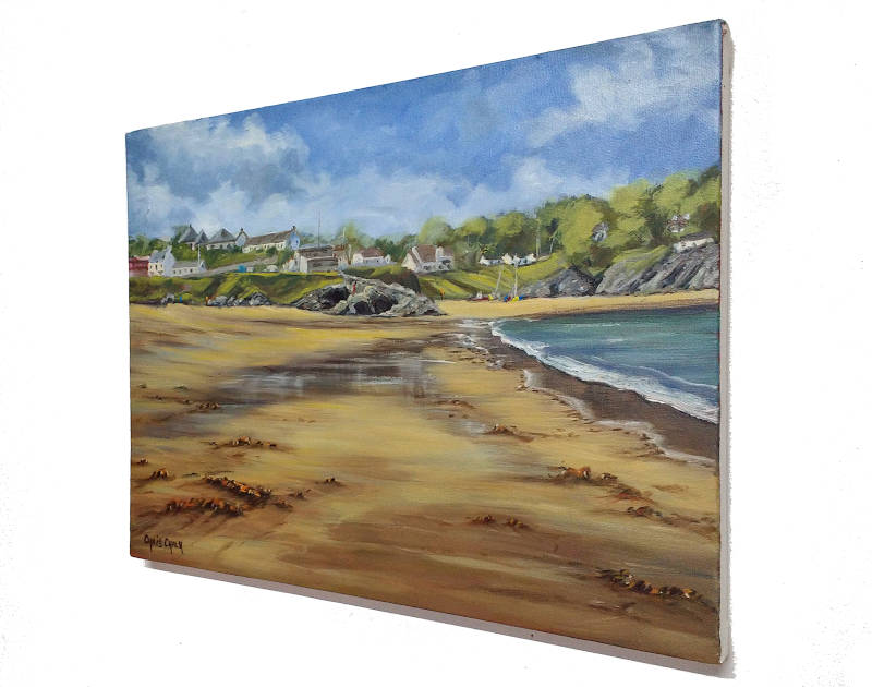Aberporth beach in Wales