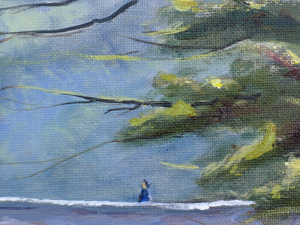 Cenarth painting close up two