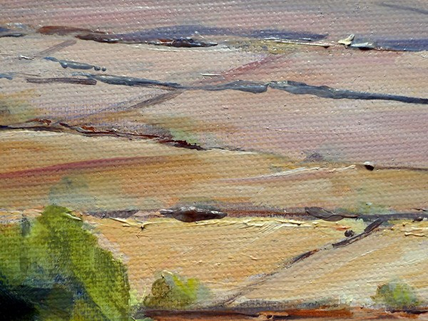 Preseli painting close up two