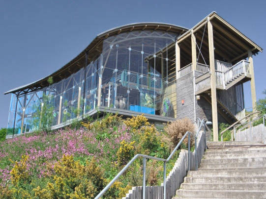 The Welsh wildlife centre in Cilgerran