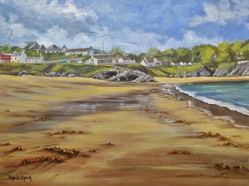 Painting of Aberporth