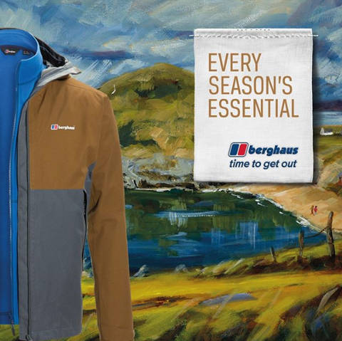 Berghaus clothing marketing campaign