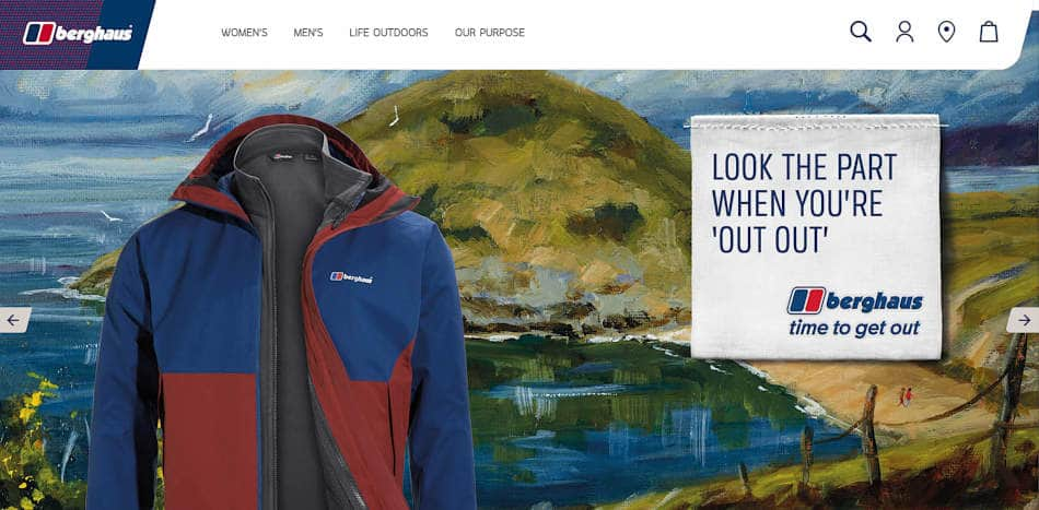 Berghaus Clothing Artwork contract