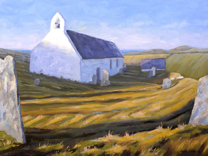 Church Painting, Mwnt