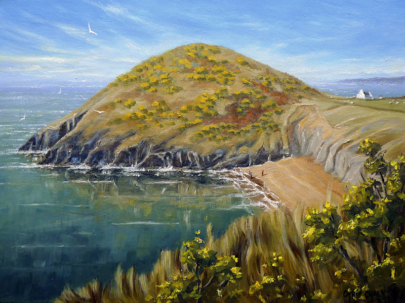 Welsh landscape paintings, Sea Change Mwnt