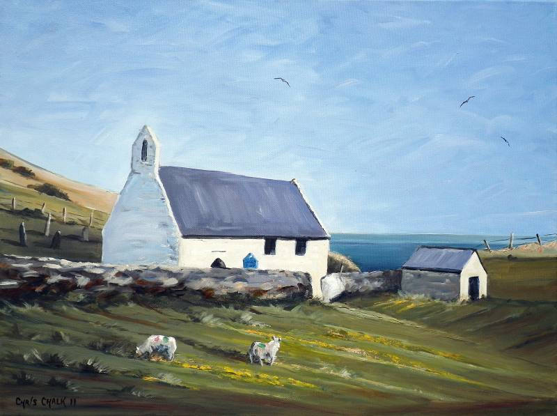 Mwnt West Wales Painting