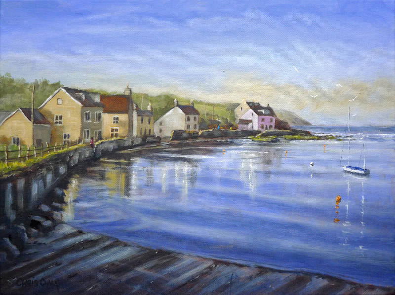 Painting of Newport