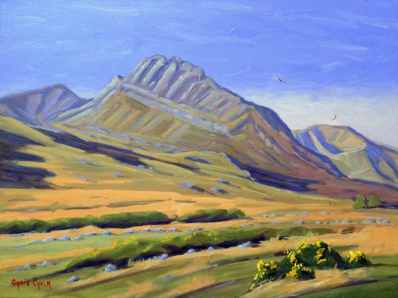Tryfan painting