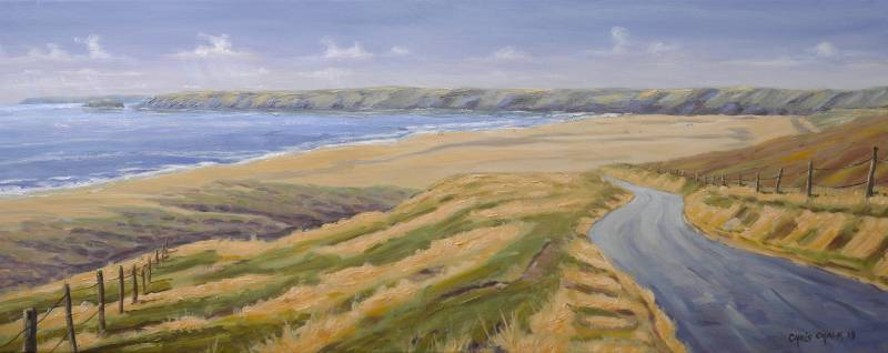 Freshwater West painting