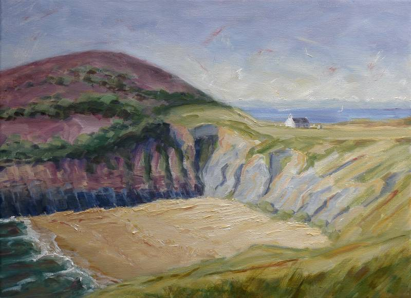 Painting of Mwnt