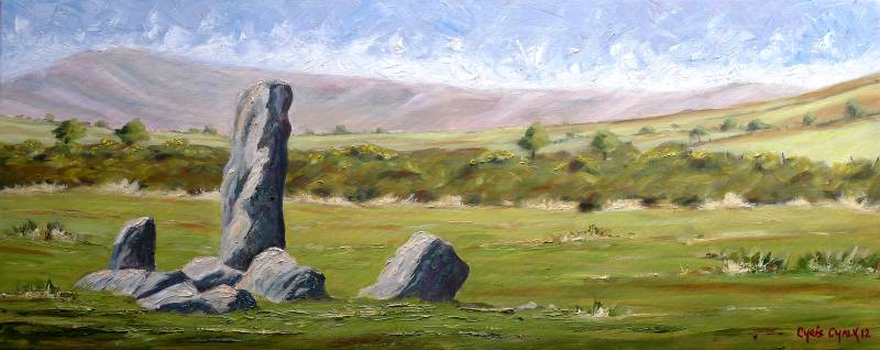 Pembrokeshire stones painting