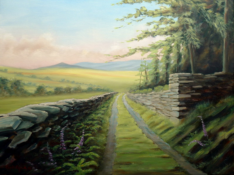 Snowdonia National Park painting