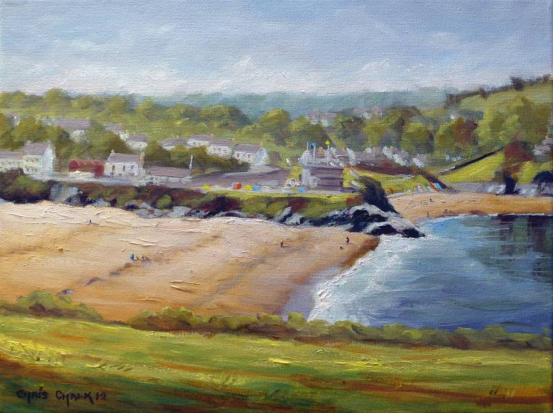 Aberporth painting