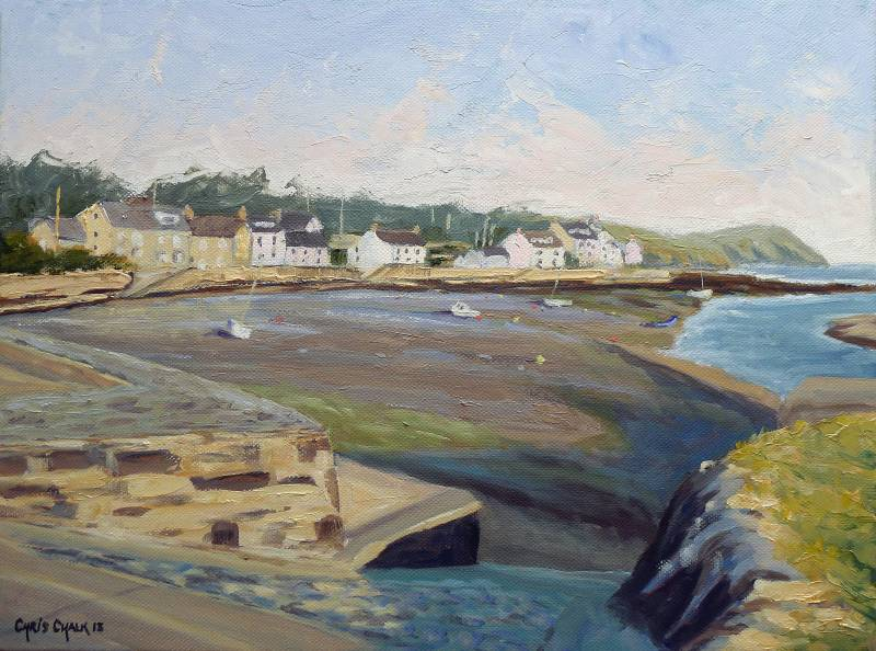 Newport in Pembrokeshire painting