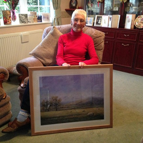 framed prints of Wales