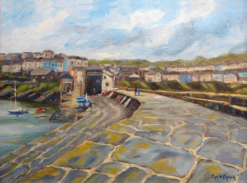 New Quay painting