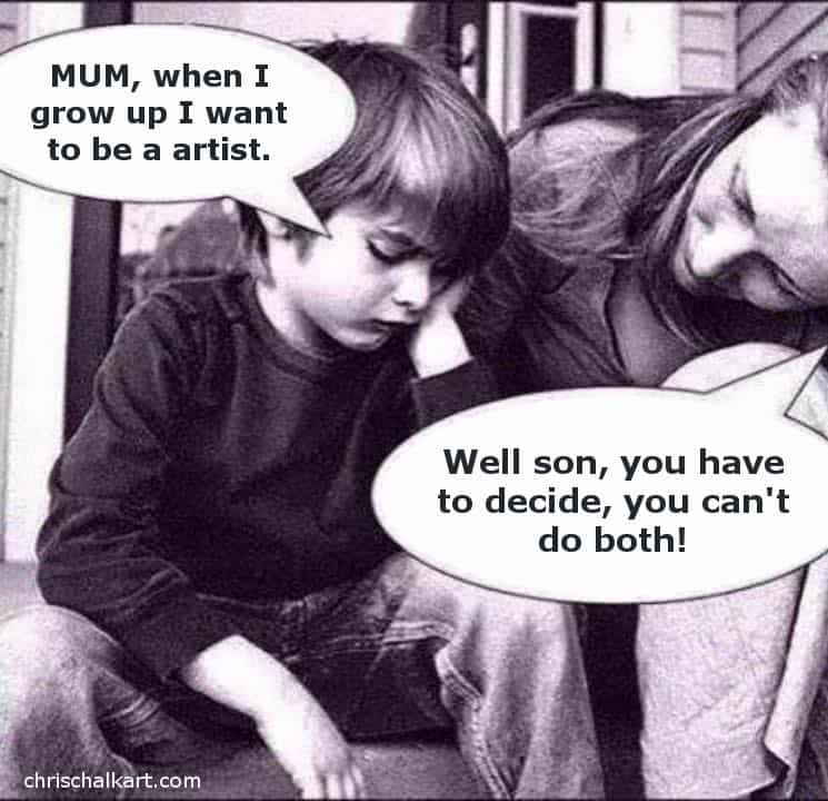 30 Funny Art Cartoons, Memes, Images and Art Quotes
