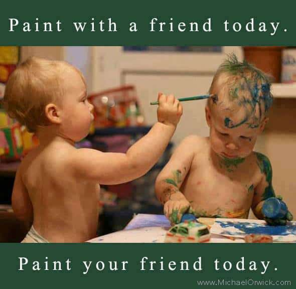paint with a friend