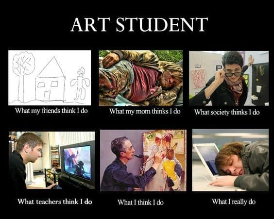 art students